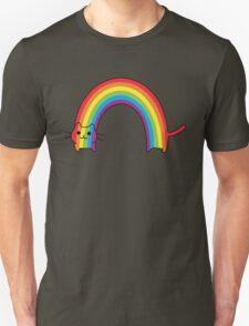 Rainbow Cat Unisex T-Shirt