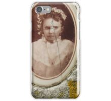 Licheny tombstone portrait iPhone Case/Skin