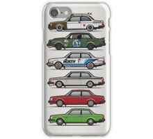 Stack Of Volvo 242 240 Series Brick Coupes iPhone Case/Skin