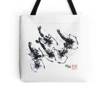 Sumi-e Shrimps represent Abundance! Tote Bag