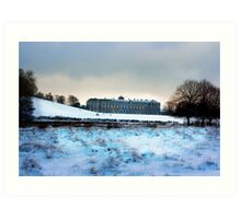 Christmas at Petworth House Art Print