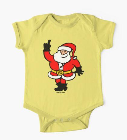 Santa Claus Celebrating One Piece - Short Sleeve