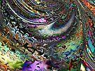 Colorful Silks for Fractal Kimonos  (UF0500) by barrowda