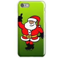 Santa Claus Celebrating iPhone Case/Skin