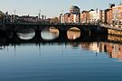 Grattan Bridge, River Liffey, Dublin, Ireland by Andrew Jones