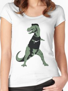 Tempa T-Rex Women's Fitted Scoop T-Shirt