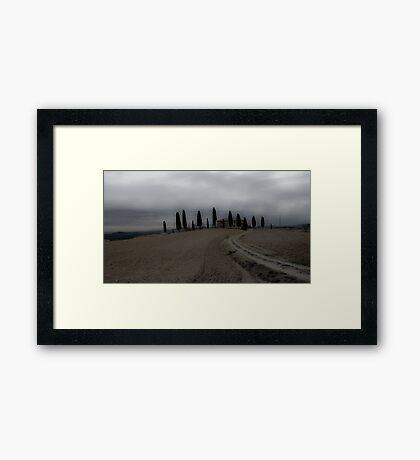 Casale Pienza Framed Print