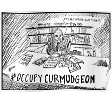 Andy Rooney RIP Occupy Curmudgeon Poster
