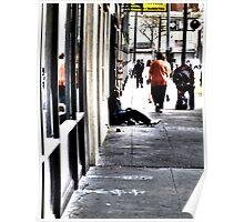 Street Life in the Tenderloin Poster