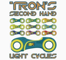 Tron's 2nd Hand Bikes by Adam Angold