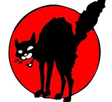 IWW Sabotage Cat by Justin Oberg
