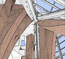 Interior - Walt Disney Concert Hall by PhotosbyDiana