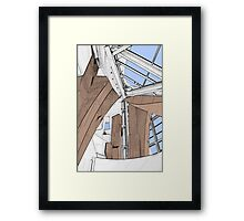 Interior - Walt Disney Concert Hall Framed Print