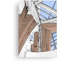 Interior - Walt Disney Concert Hall Canvas Print