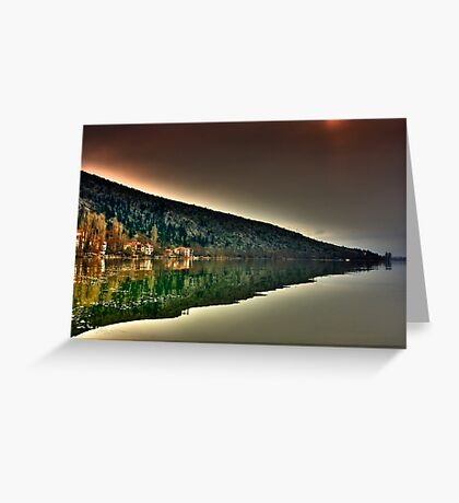 mirror mountain Greeting Card