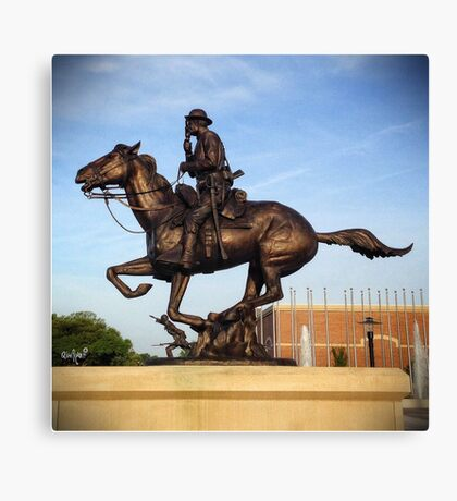 Army Cavalry Canvas Print