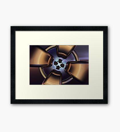 Rotor Reflection Framed Print