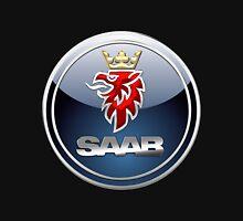 SAAB - 3D Badge on Black T-Shirt