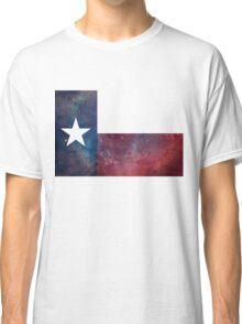 Texas Flag Nebula Classic T-Shirt