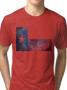 Texas Flag Nebula Tri-blend T-Shirt