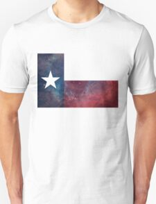 Texas Flag Nebula Unisex T-Shirt
