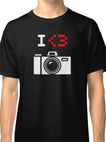 I Love Photography Camera Classic T-Shirt