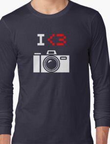 I Love Photography Camera Long Sleeve T-Shirt