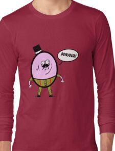 Jeffrey the Eggman Long Sleeve T-Shirt