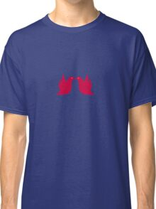 Love Doves Red Classic T-Shirt