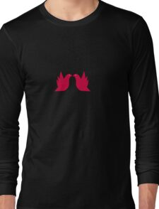 Love Doves Red Long Sleeve T-Shirt