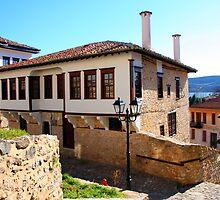 Traditional old house at Kastoria (Makedonia, Greece) by Tania Koleska