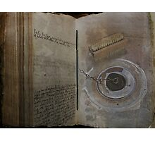 Book of Drudgery Photographic Print
