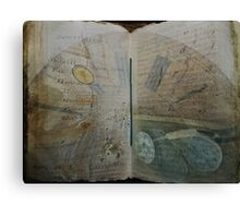 Book of Dimensions Canvas Print