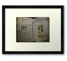 Book of Decay Framed Print
