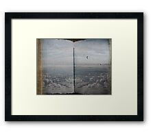 Book of Clouds Framed Print