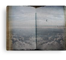 Book of Clouds Canvas Print