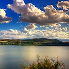 Panoramic view of Kastoria city. (Makedonia, Greece) by Tania Koleska