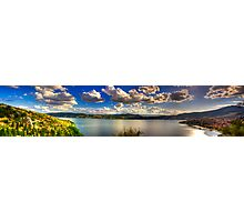 Panoramic view of Kastoria city. (Makedonia, Greece) Photographic Print