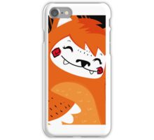 the fox and the bird iPhone Case/Skin