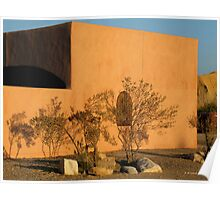 Afternoon Shadows in Terlingua Poster