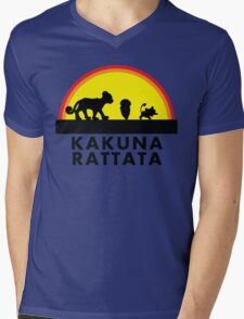 Pokemon Hakuna Matata Mens V-Neck T-Shirt