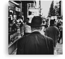 Hat Stalking Canvas Print