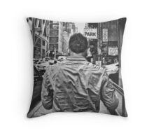 Armani Exchange Stalking Throw Pillow
