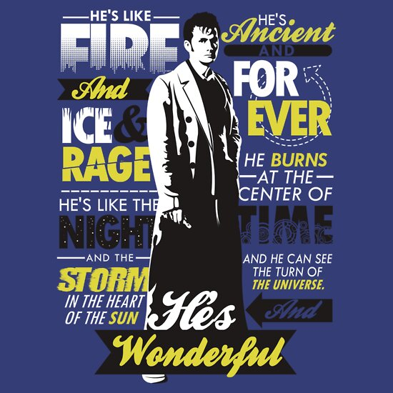 TShirtGifter presents: Fire and Ice and Rage | Doctor Who