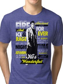 Fire and Ice and Rage  Tri-blend T-Shirt