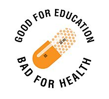 Good for education - Bad for health (Akira) Photographic Print