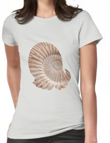 Omanyte used shell smash Womens Fitted T-Shirt