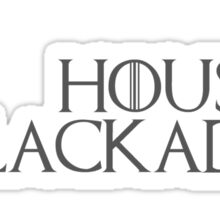House Blackadder Sticker