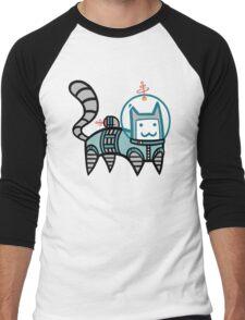 Astro Cat Men's Baseball ¾ T-Shirt