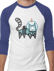 Astro Cat Men's Baseball ¾ T-Shirt